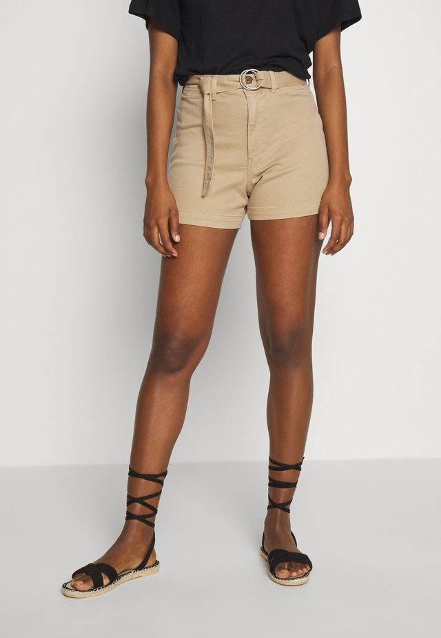 HIGH RISE SEAFARER - Shorts - mojave