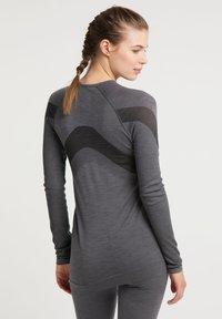 PYUA - Long sleeved top - grey melange - 2