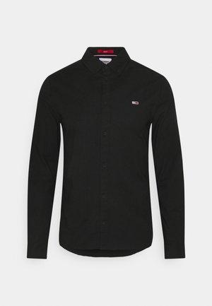 STRETCH SHIRT - Shirt - black