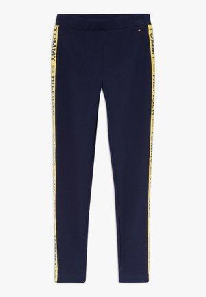 GIRLS TAPE  - Leggings - Trousers - blue
