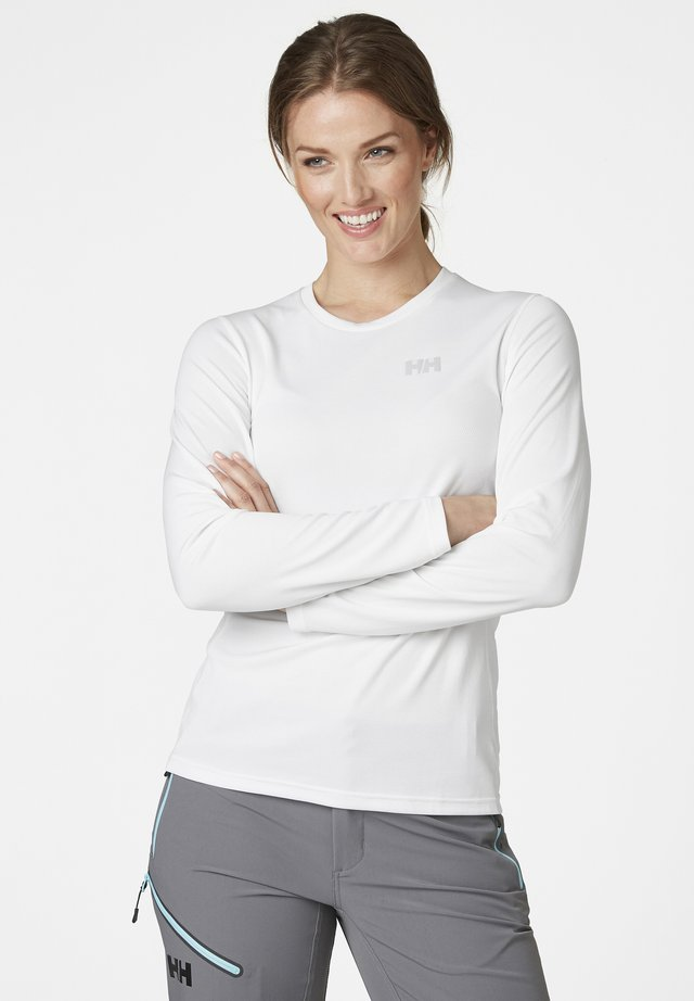 W HH LIFA ACTIVE  - Long sleeved top - weiãŸ