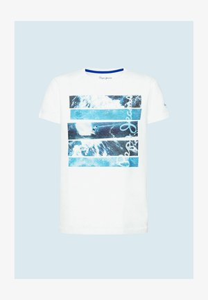 KELLY - Print T-shirt - optic weiss