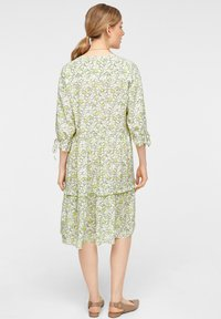 comma casual identity - Day dress - offwhite leaf - 2