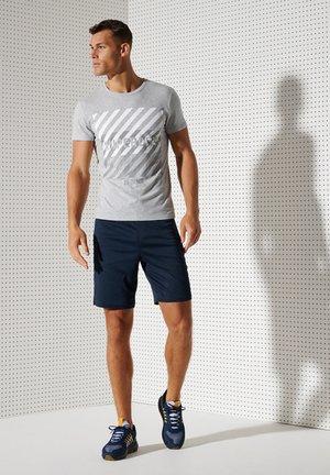 Pantaloncini sportivi - zinc blue marl
