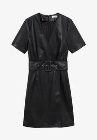 Mango - Day dress - černá - 5