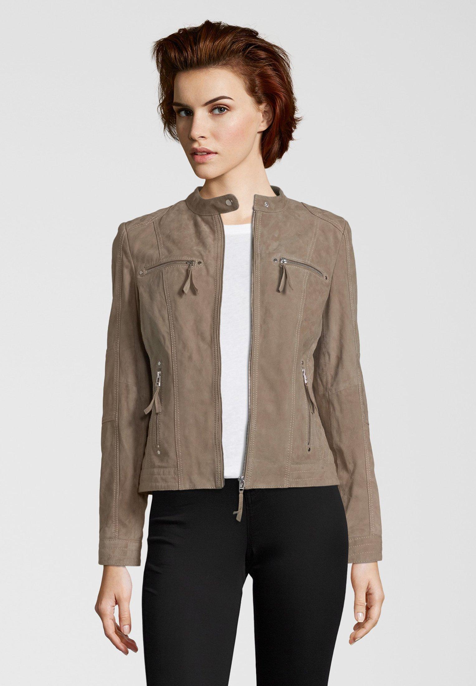 Femme STEFF - Veste en cuir