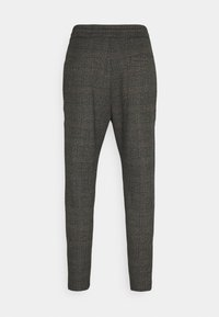 Only & Sons - ONSLINUS CROP CHECK PANTS - Trousers - grey melange - 7