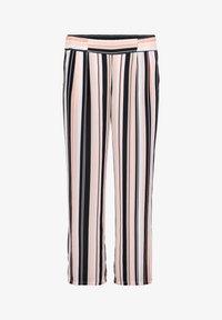 Betty Barclay - MIT BUNDFALTEN - Trousers - stone-dark blue - 4