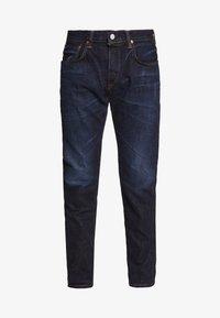 REGULAR TAPERED - Straight leg jeans - dark blue denim