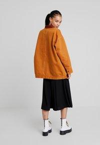 Monki - SARAH JACKET - Short coat - tobacco/dark brown - 2