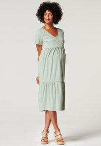 Esprit Maternity - Sukienka z dżerseju - grey moss - 0