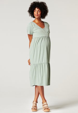 Sukienka z dżerseju - grey moss