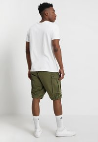 G-Star - ROVIC ZIP RELAXED - Shorts - sage - 2