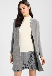 Morgan - BLOCK - Cardigan - grey - 0