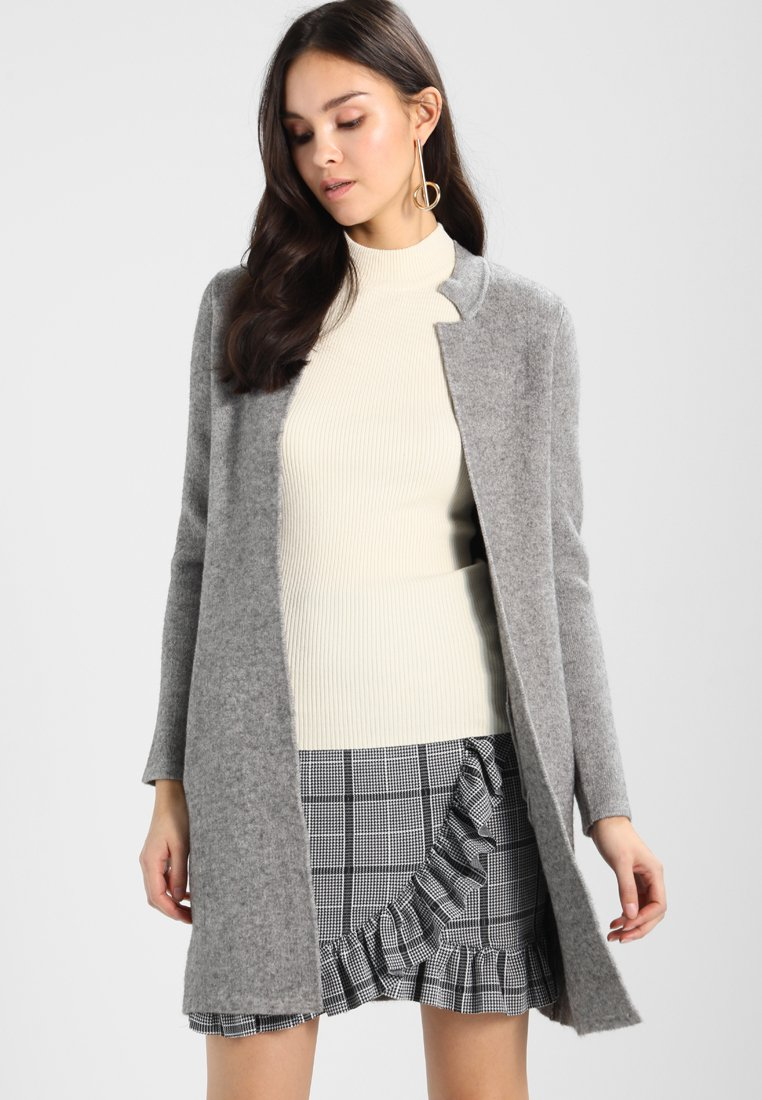 Morgan - BLOCK - Cardigan - grey