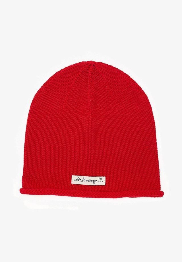 MERLE - Beanie - red
