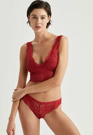 Bustier - red