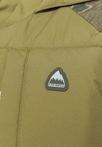 Burton - KEELAN - Snowboardjacke - olive - 4