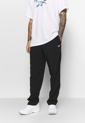 WOVEN ELEMENTS SPEEDWICK SPORT PANTS - Verryttelyhousut - black