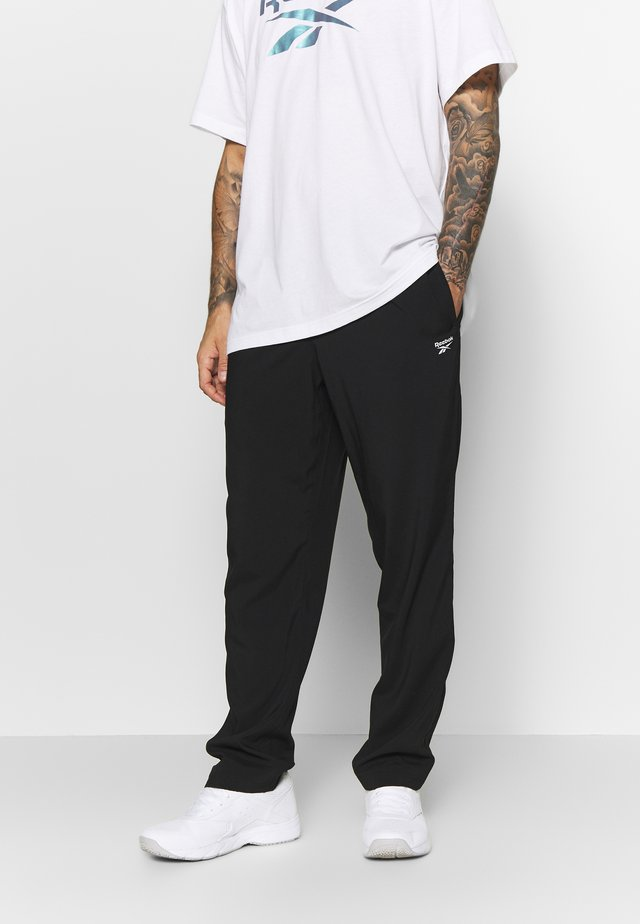 WOVEN ELEMENTS SPEEDWICK SPORT PANTS - Pantaloni sportivi - black