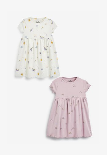 2 PACK - Jersey dress - multi-coloured