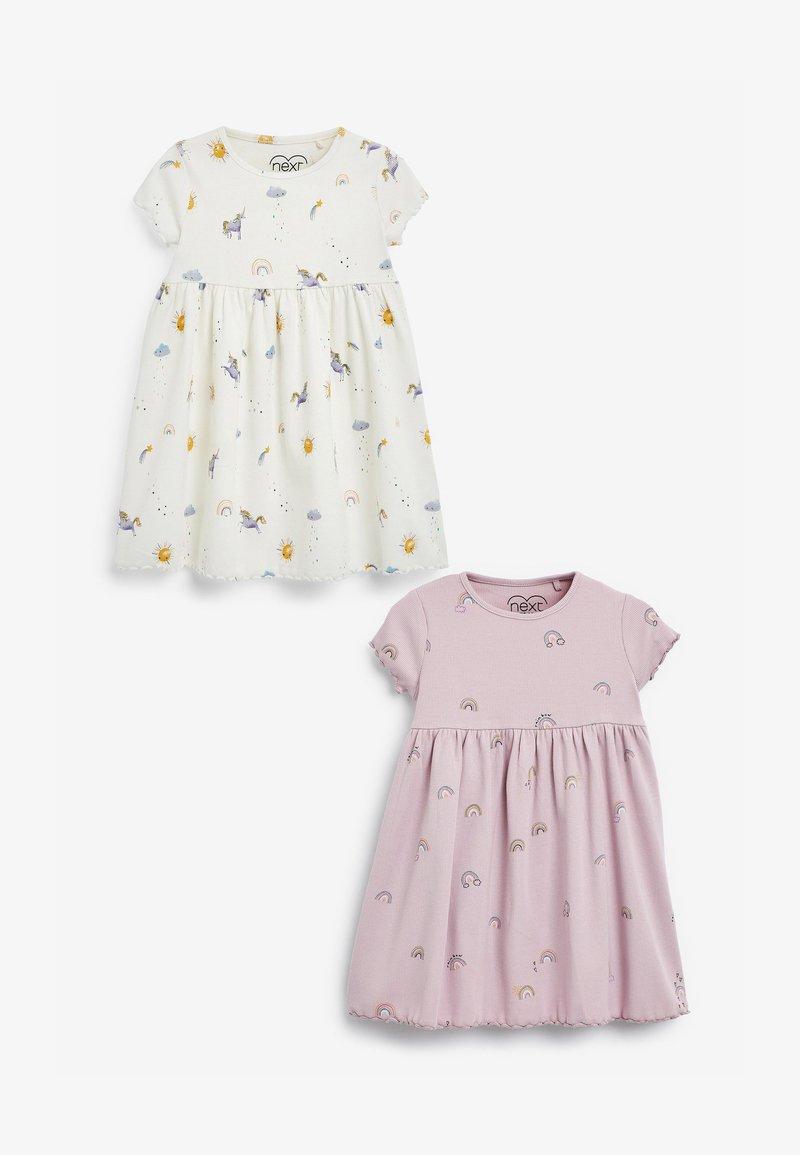 Next - 2 PACK - Žerzejové šaty - multi-coloured