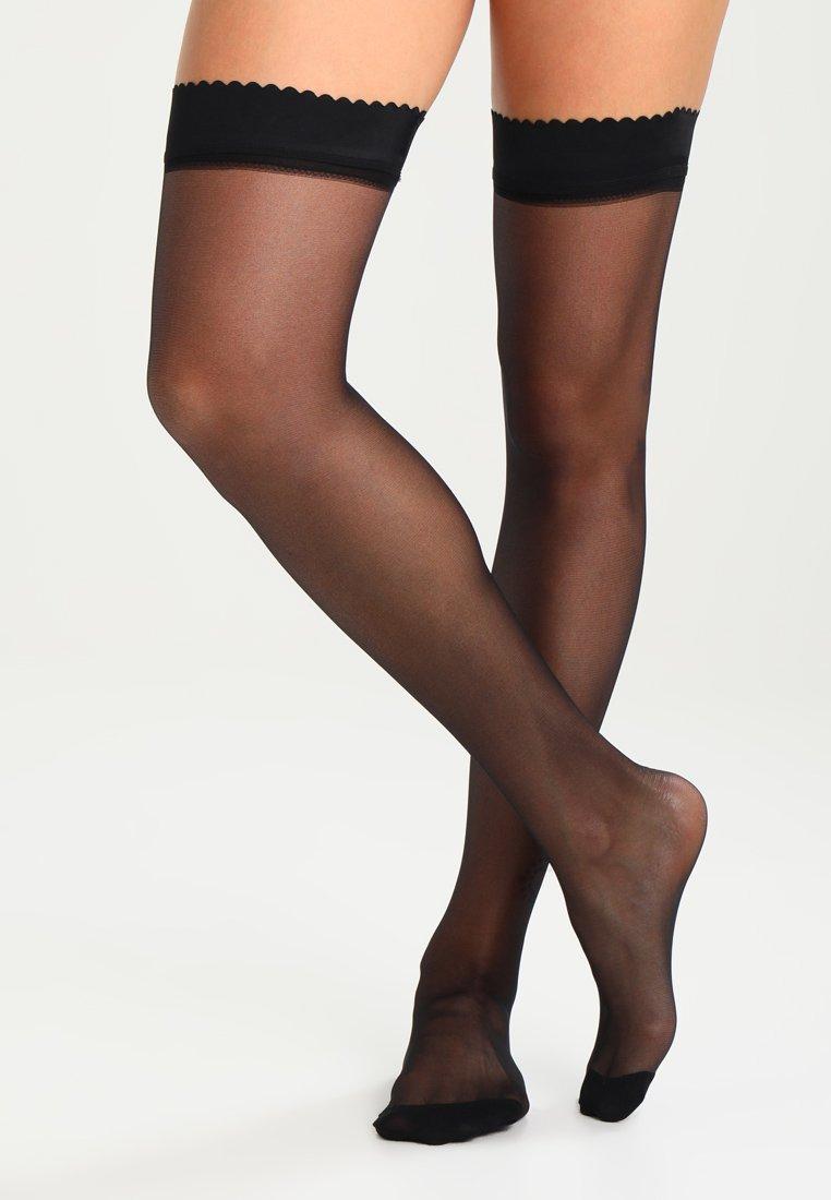 DIM - 20 DEN UP EASY BODY TOUCH  - Over-the-knee socks -  noir