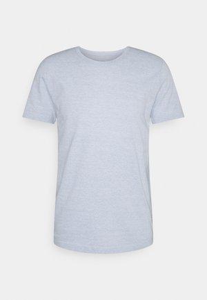 STRUCTURE - T-paita - blue/white