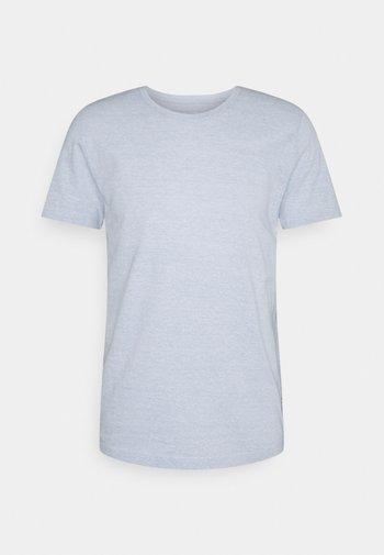 STRUCTURE - Basic T-shirt - blue/white