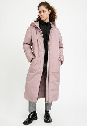 Winter coat - grey-pink