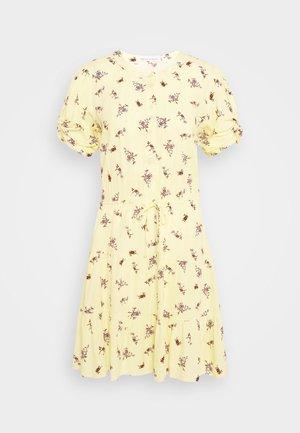 ASTON DRESS - Day dress - yellow/multi