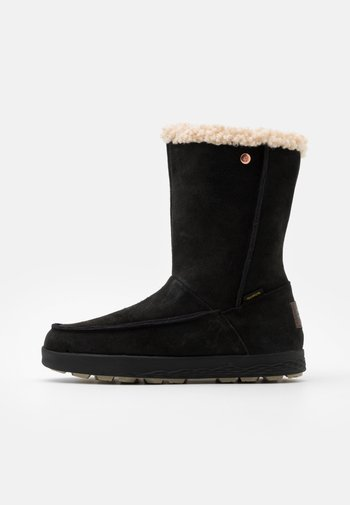 AUCKLAND WT TEXAPORE  - Winter boots - black/beige
