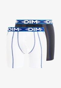 DIM - 3D FLEX AIR 2 PACK - Shorty - blanc/bleu/gris - 5