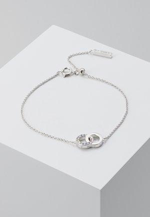RAINBOW INTERLINK CHAIN BRACELET - Bracelet - silver-coloured