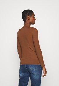 Trendyol - Top sdlouhým rukávem - brown - 2