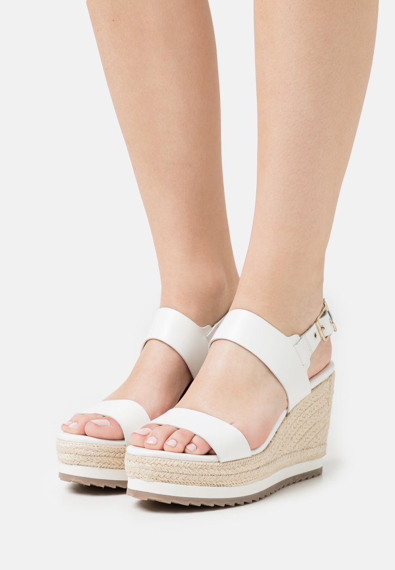 Ted Baker - ARCHEI - Platform sandals - white