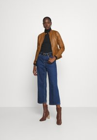Oakwood - LINA - Leather jacket - cognac - 1
