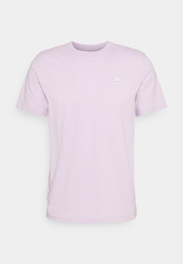CLUB TEE - T-shirt basic - iced lilac/white