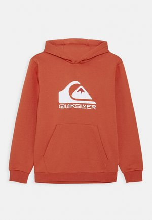 BIG LOGO HOOD YOUTH - Hoodie - chili