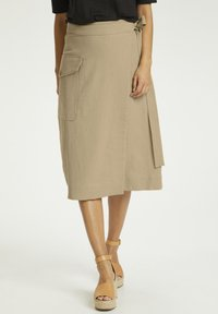 Part Two - Wrap skirt - beige - 0