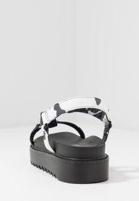 Koi Footwear - VEGAN  - Korkeakorkoiset sandaalit - black - 3