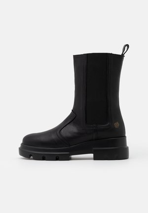 KIM - Platform ankle boots - black