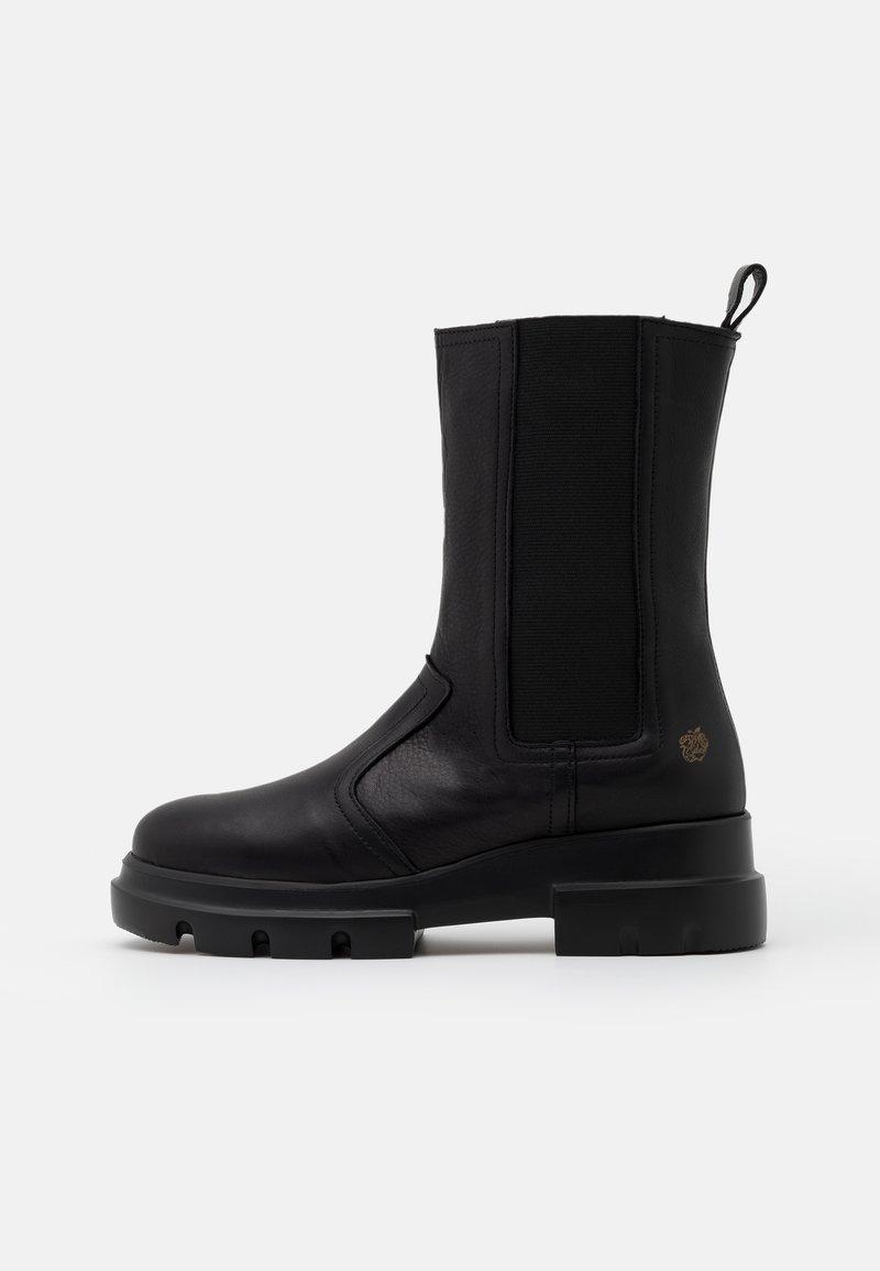 Apple of Eden - KIM - Kotníkové boty na platformě - black