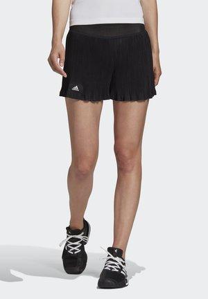 PLISSÉ TENNIS SHORTS HEAT.RDY - Sports shorts - black