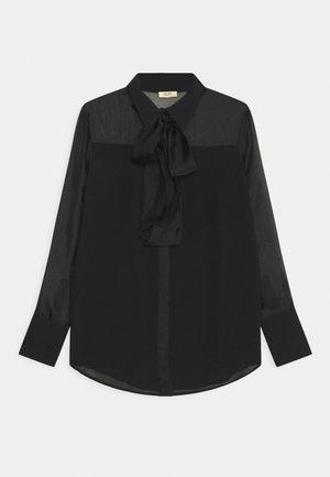 CAMICIA FIOCCO - Camisa - nero