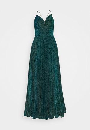 Společenské šaty - teal