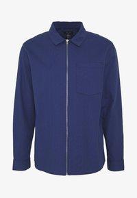 New Look - ZIP THRU SHACKET - Shirt - indigo - 4