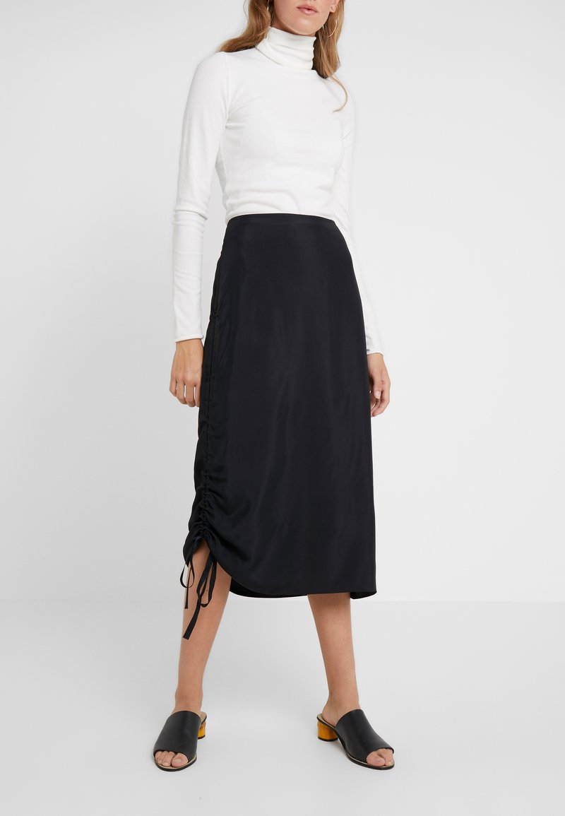 By Malene Birger - CISCO - A-line skirt - black