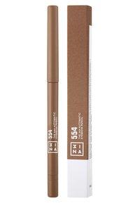 3ina - THE 24H AUTOMATIC EYEBROW PENCIL - Matite sopracciglia - 554 caramel - 1