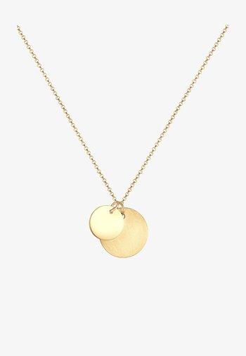PLATES BASIC - Necklace - gold-coloured